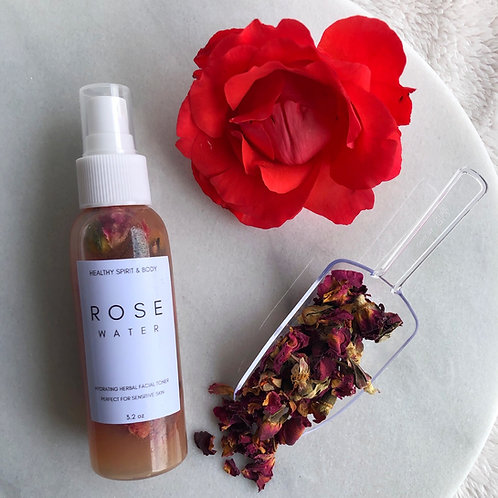 Rose Water Herbal Facial Toner