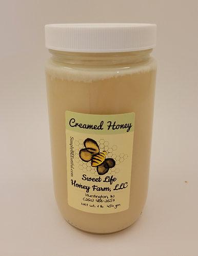 Pure Raw Creamed Honey