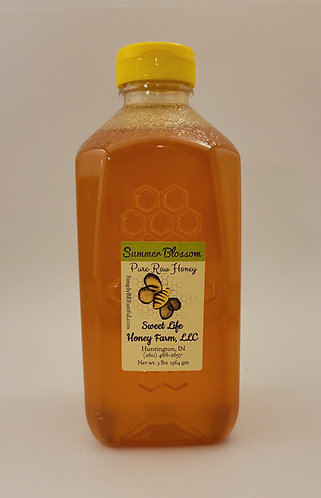 Three Pound Pure Raw Honey