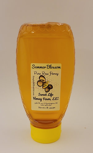 One Pound Pure Raw Honey