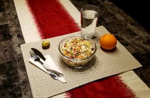 Couscous avec grains de grenade