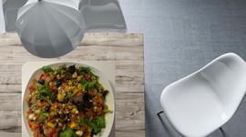 Salade de quinoa coloré
