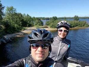 Vélo au Petit Train du Nord                (Mont-Tremblant à Nominingue aller- retour) 120 Km