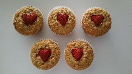 Muffin d'avoine aux noix