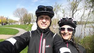 Parcours à vélo: 83 km!