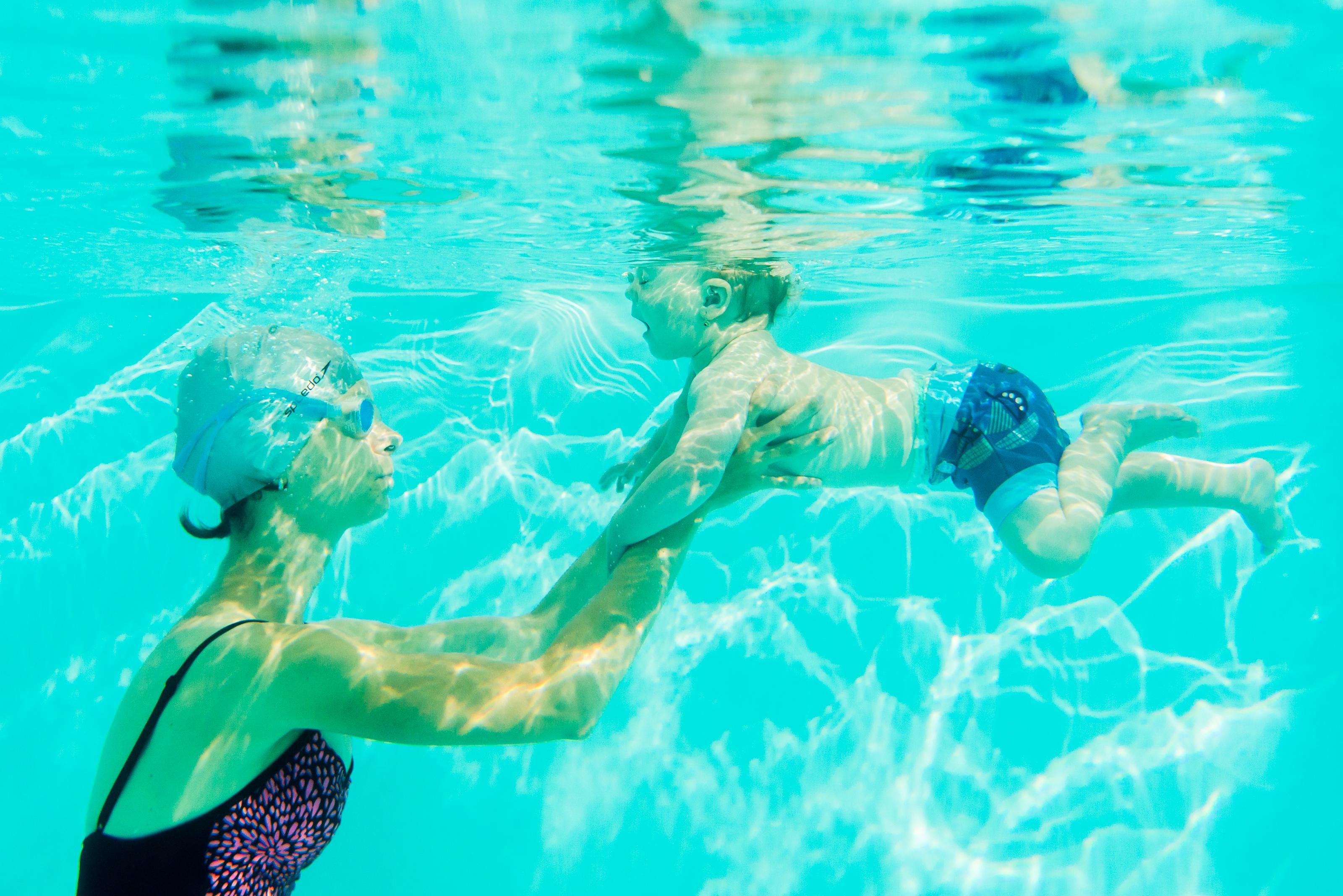 Plavanie pod vodou