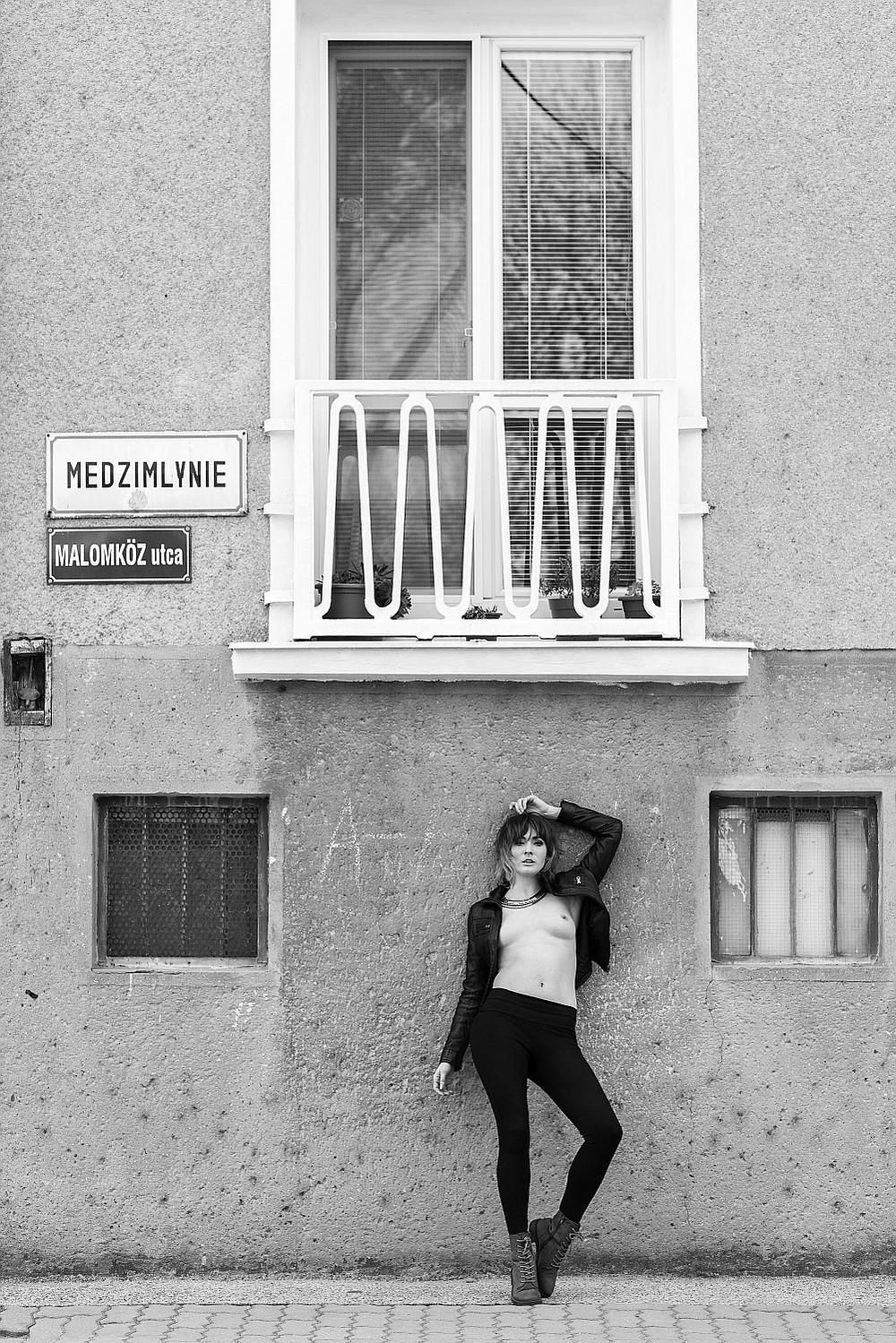 street nude