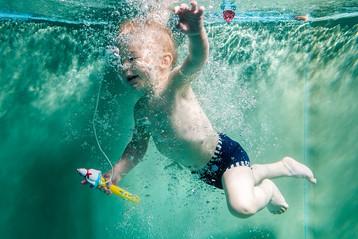 Plavecké jasličky Žabka - Underwater photos