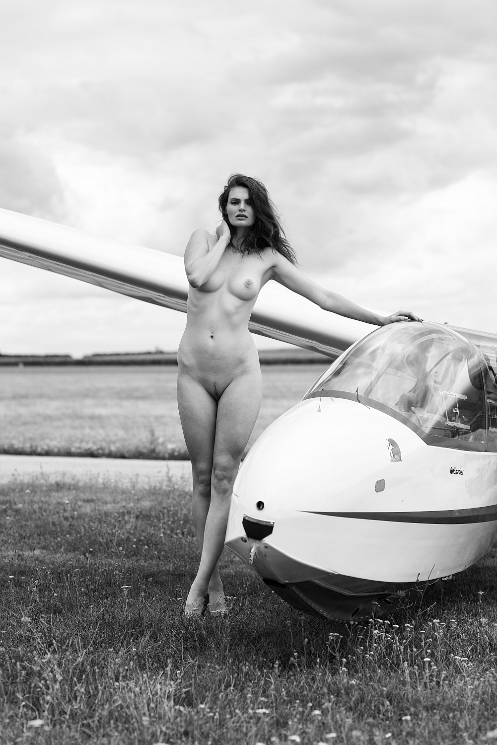 With glider III