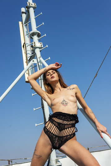 On the rooftop with Adelle Unicorn