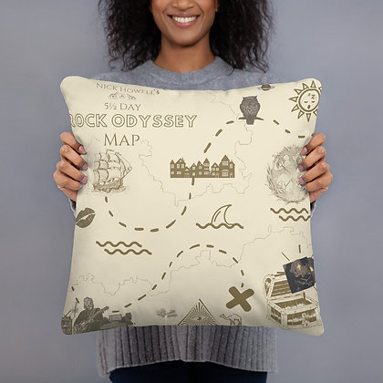 Rock Odyssey Pillow