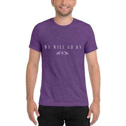 Short sleeve We Will Go On Album t-shirt