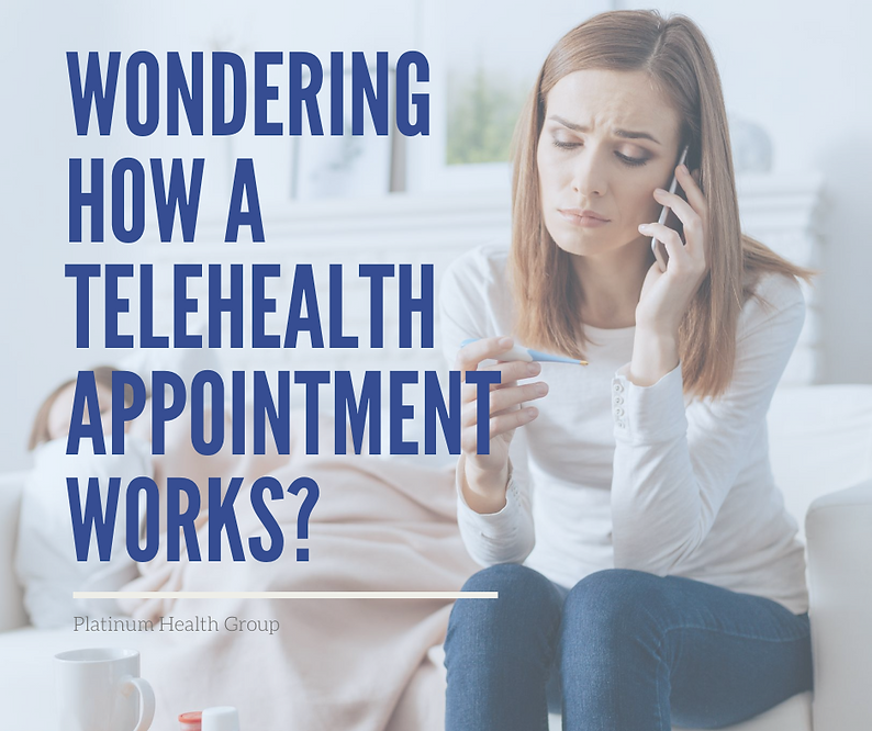 Wondering how a telehealth appointment w
