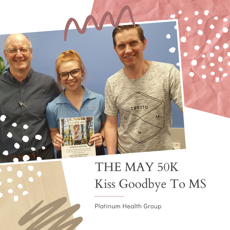 The May 50K – Kiss Goodbye to MS.