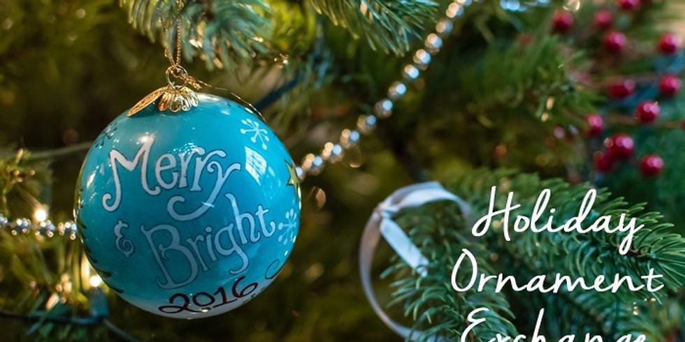 Ladies Christmas Ornament Exchange