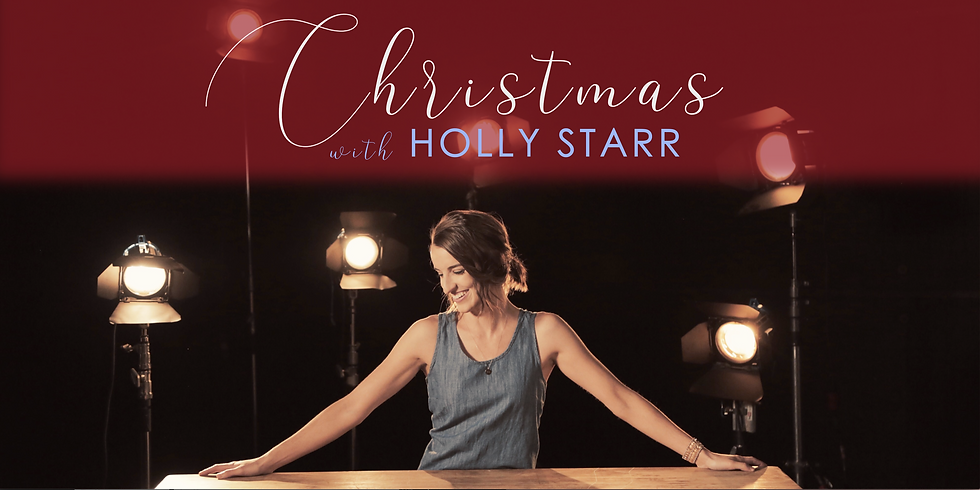 Christmas with Holly Starr Benefit Concert & Dinner