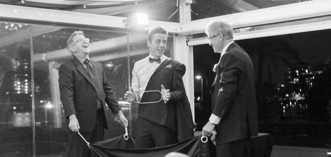 Wedding Magic show - Brisbane - Andino magician