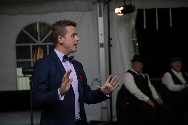 Andino magician corporate entertainer