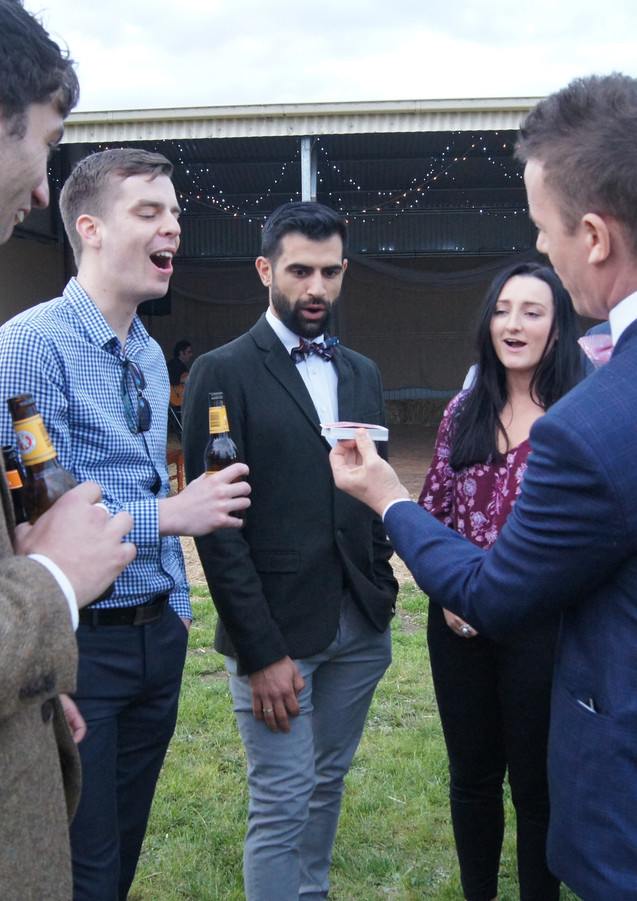 Wedding Magic - Geelong - Andino Magician