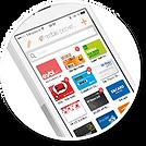 Mobilní aplikace mobile-pocket pro správu věrnostních karet a komunikaci se zákazníky
