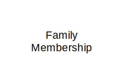 Dual/ Family Membership