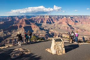 Tourists at Grand Canyon National Park, Arizona, USA.jpg