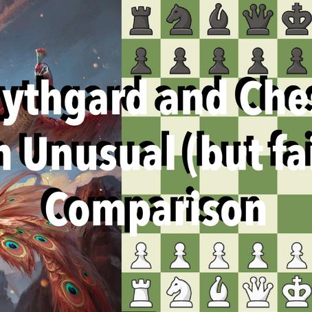 Mythgard and Chess-An Unusual (but fair) Comparison