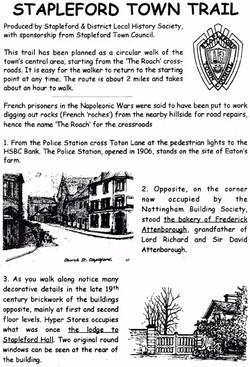 Stapleford Town Trail Leaflet