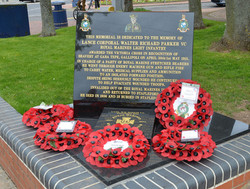 Memorial for Walter Parker VC