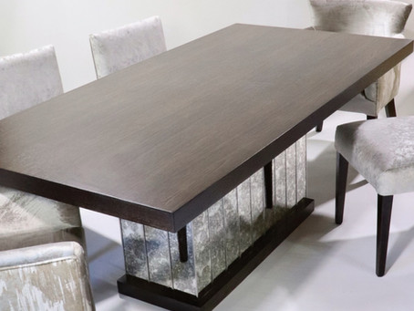 Bespoke handcrafted table and chairs