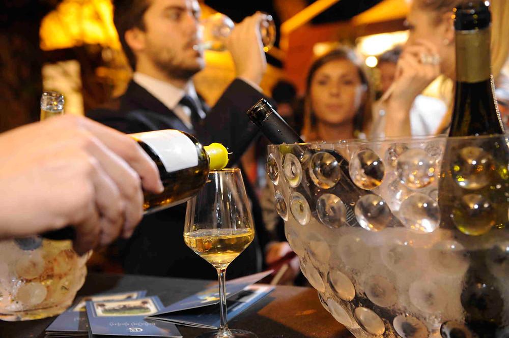 Degustazioni di vino a Vinòforum Spazio del gusto