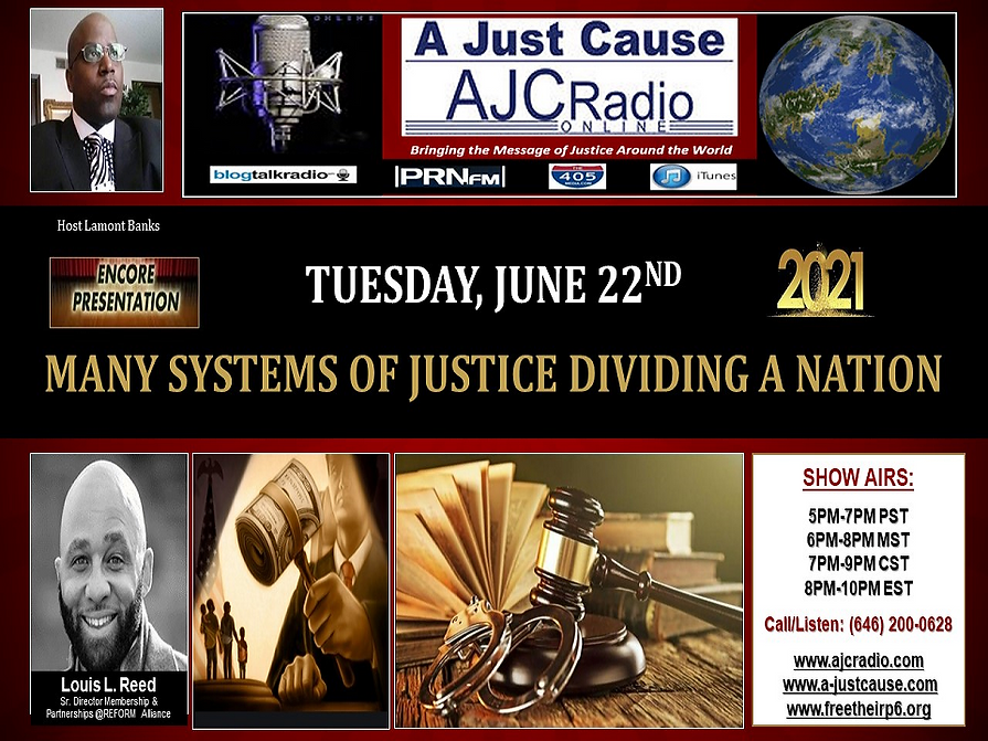 AJCRadio - Encore Presentation Show - Many Systems of Jusrtice Dividing a Nation 06222021.png