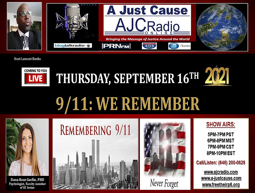AJCRadio - Live Presentation Show - 911 - We Remember 20210916.png