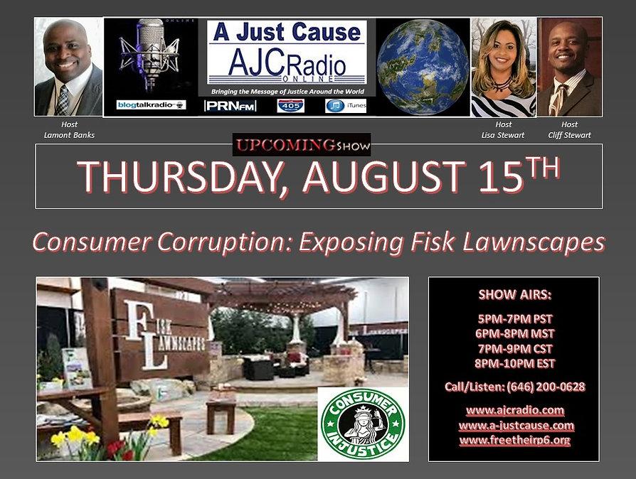 AJCRadio Upcoming Show - Consumer Corrup