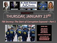 AJCRadio Upcoming Show - FBI Secrecy - T