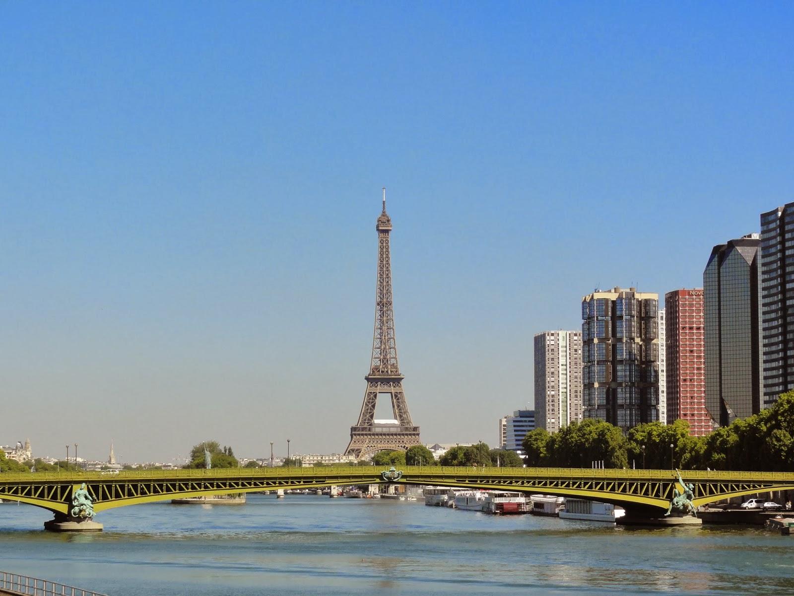Pont Mirabeau et la tour Eiffel