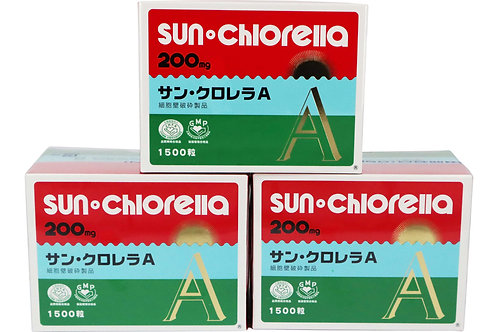 Chlorella Tablets-1500 tablets (3 boxes)
