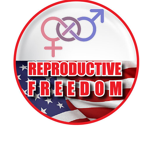 Reproductive Freedom Button