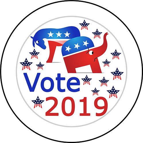Vote 2019 Button