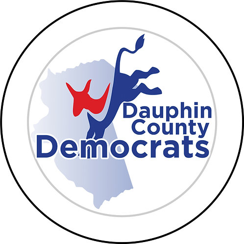 Dauphin County Democrats Button