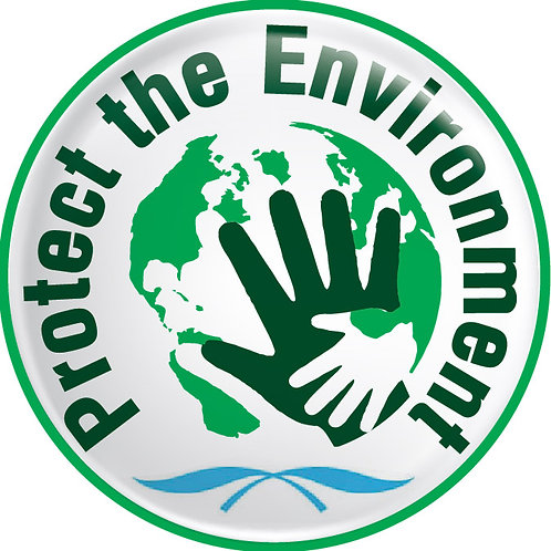 Protect the Environment Button