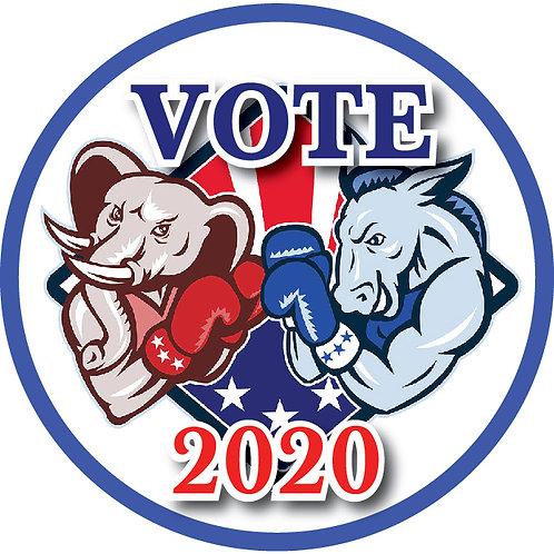 Vote 2020 Button