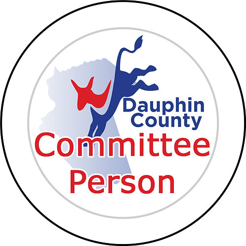 Dauphin County Committee Person Button
