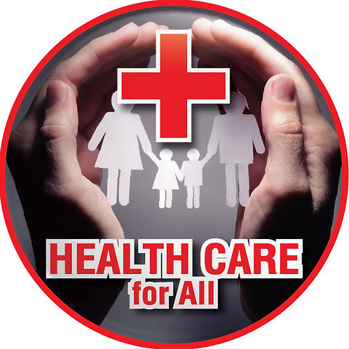Health Care for All Button
