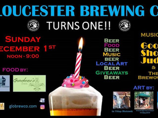 Gloucester Brewing Company Turns 1!