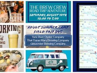 Brew Crew Gloucester Road Trip Adventure