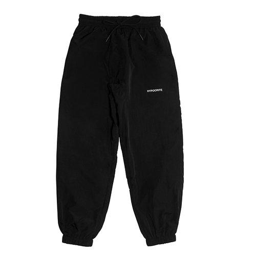 HYPOCRITE BASIC LOGO BLACK LOUNGE PANTS