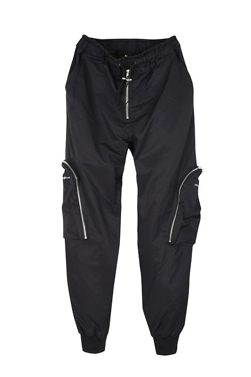 3D Zip Cargo Pocket Track Pants