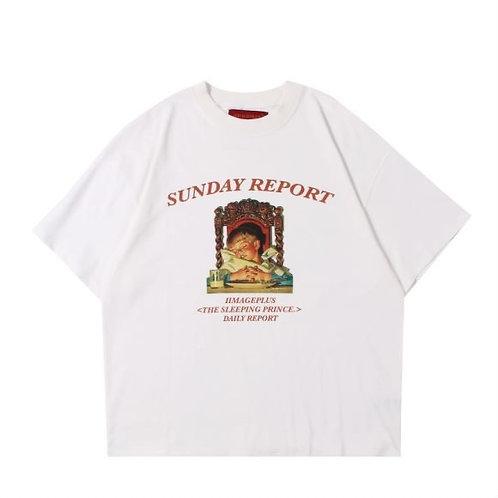 IIMAGE PLUS Sunday Report T Shirt