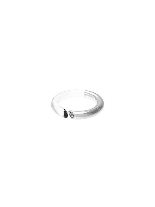 51 E JOHN Spy Collection Crystal Ring 052